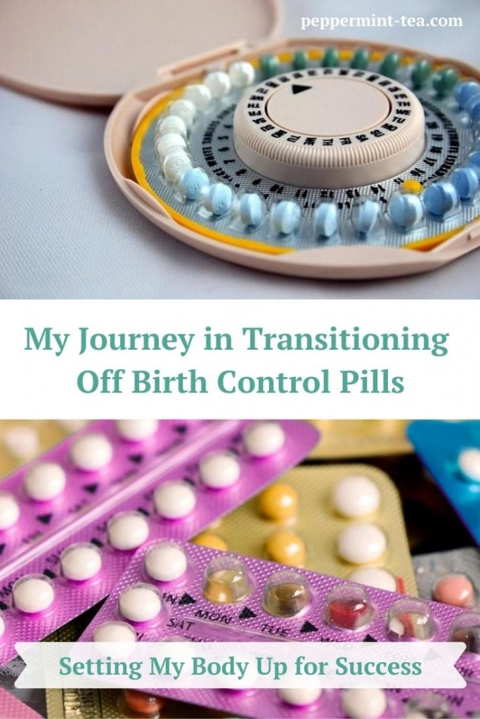 Photos of packs of birth control pills
