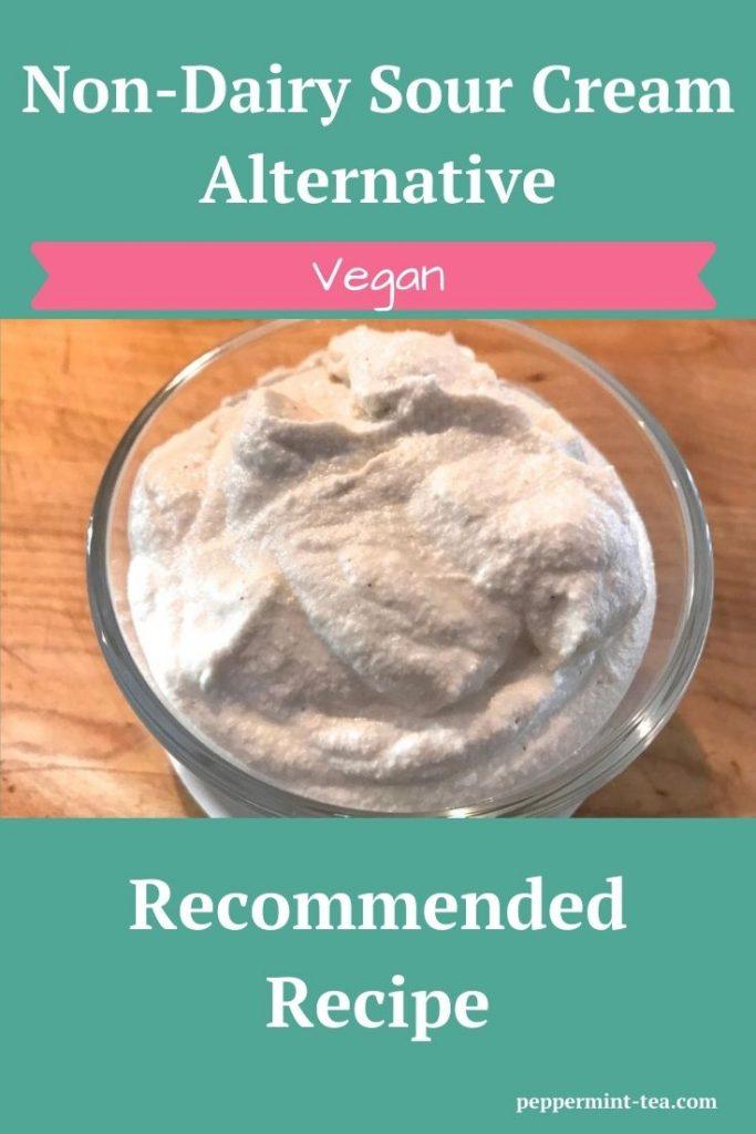 Non-Dairy Sour Cream Alternative