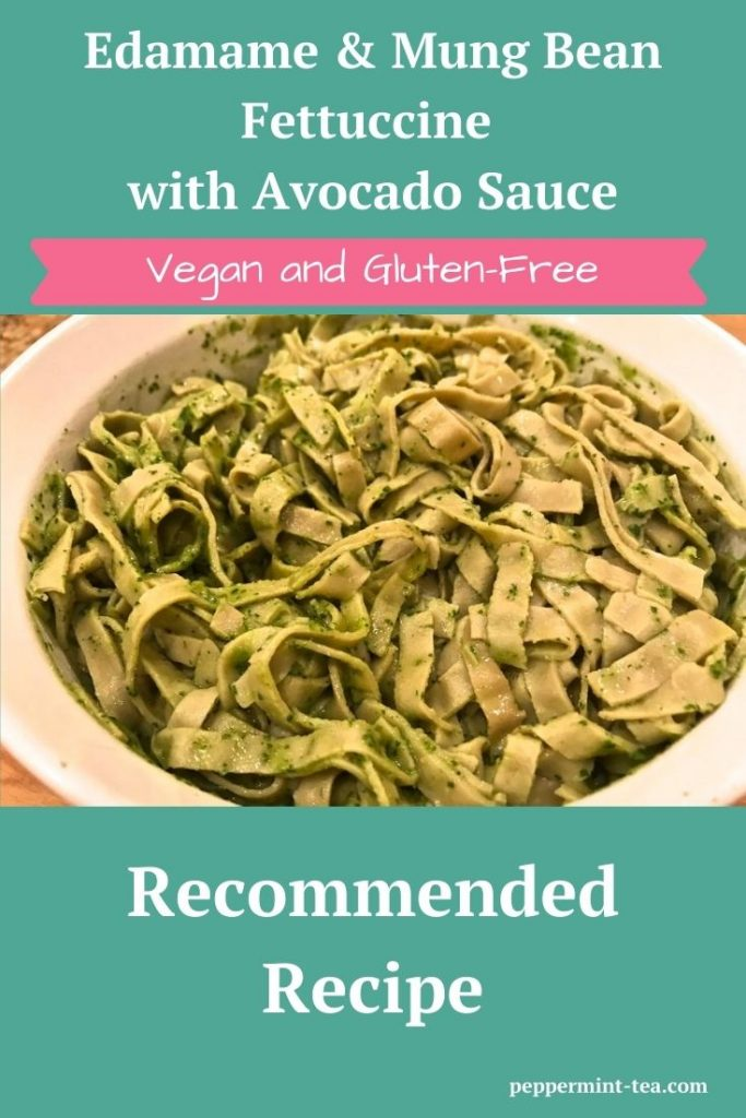 Explore Cuisine's Organic Edamame & Mung Bean Fettuccine with Avocado Sauce