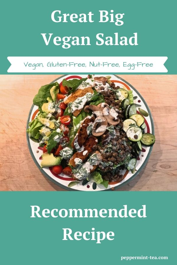 Great Big Vegan Salad
