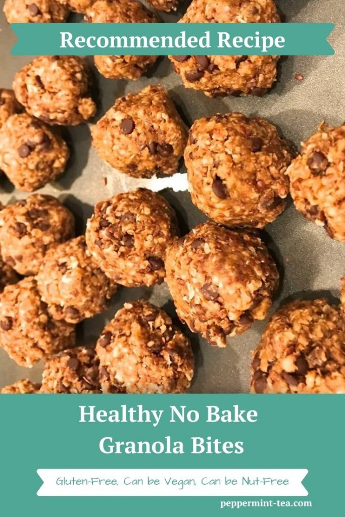 Healthy No Bake Granola Bites