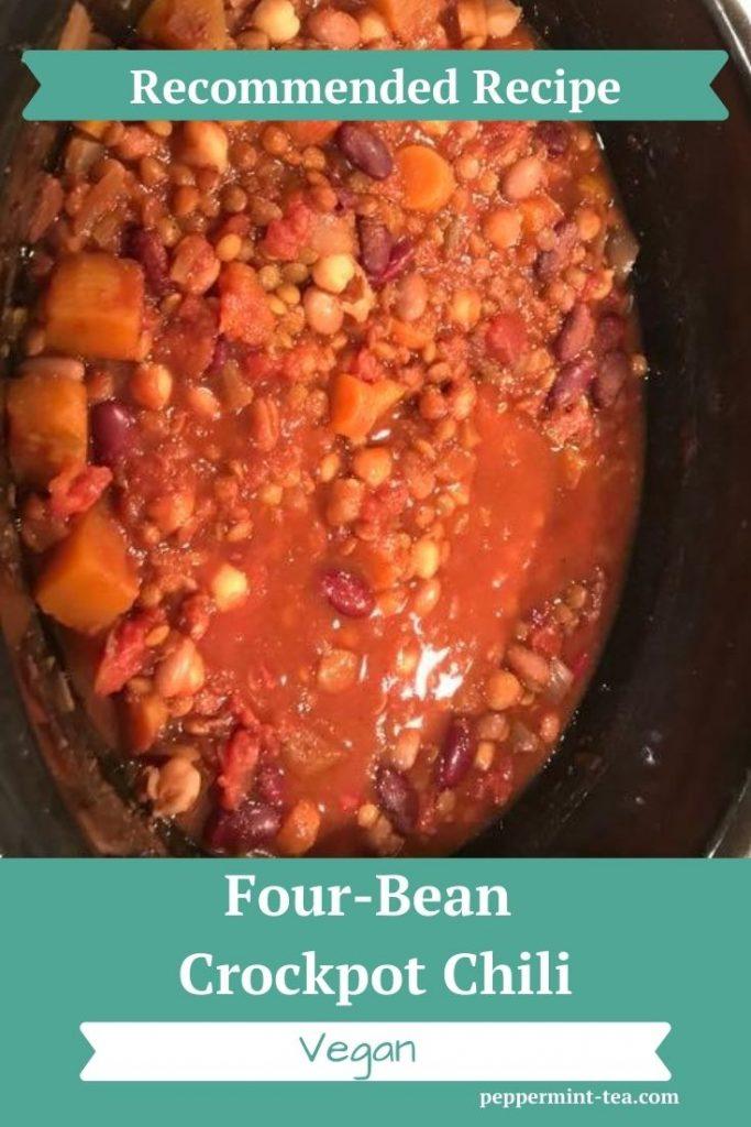 Four-Bean Crockpot Chili
