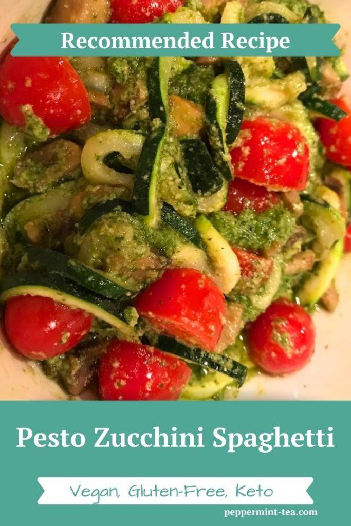 Pesto Zucchini Spaghetti Recipe