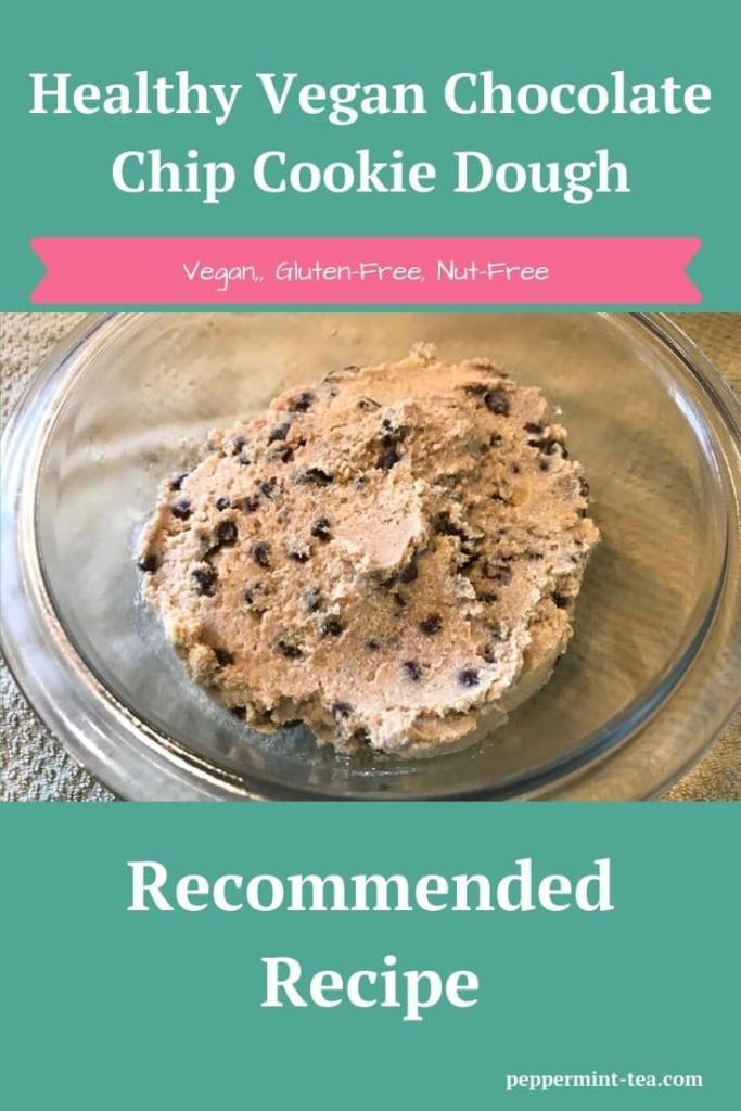 Healthy Vegan Chocolate Chip Cookie Dough