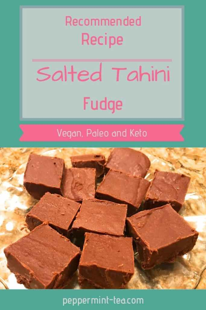 Salted Tahini Fudge