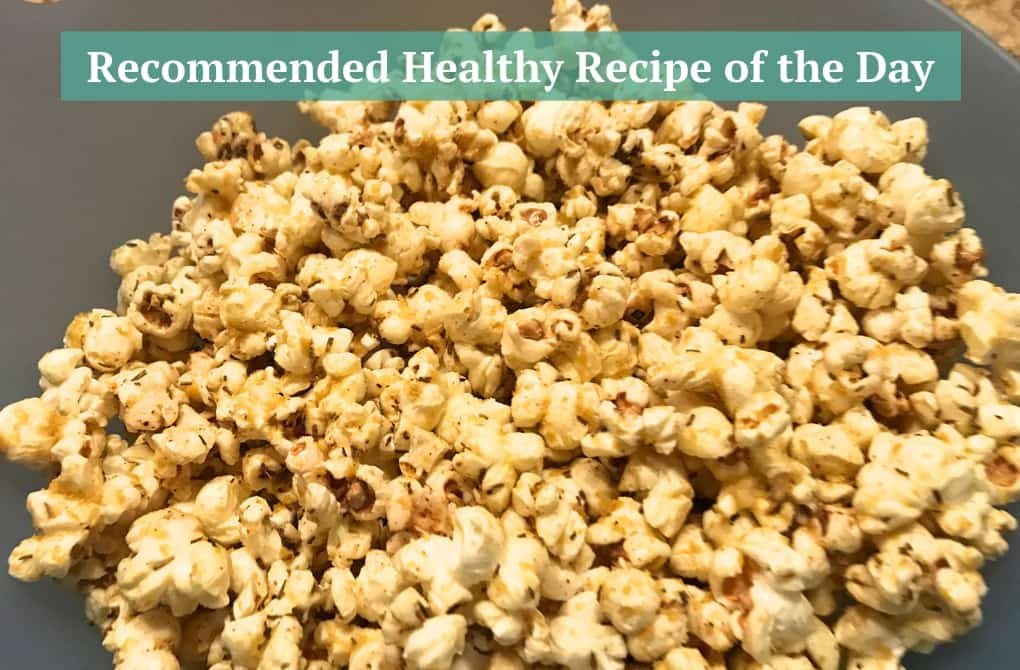 Kris Carr's Rockin' Rosemary Popcorn