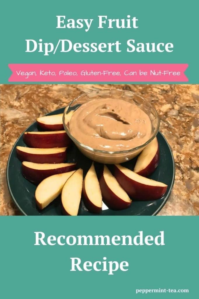 Easy Fruit Dip/Dessert Sauce