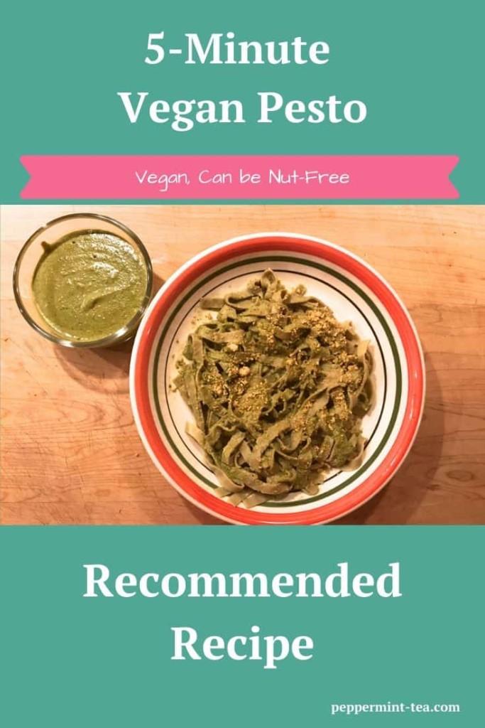5-Minute Vegan Pesto