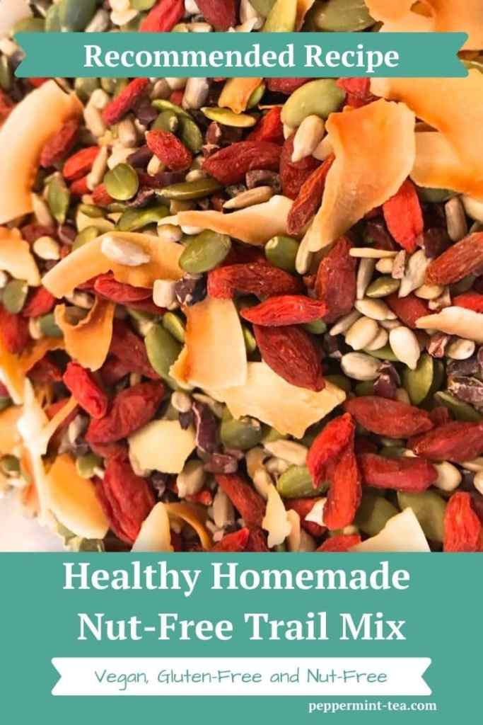 Healthy Homemade Nut Free Trail Mix
