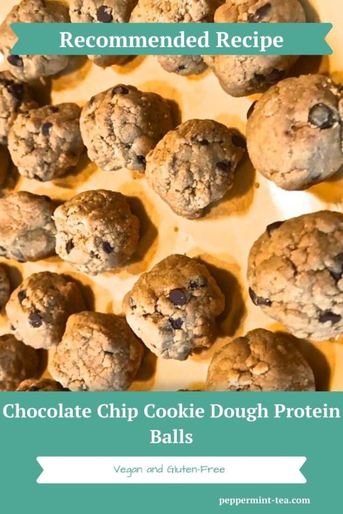 Chocolate Chip Cookie Dough Protein Balls