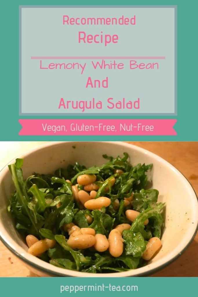 Lemony White Bean and Arugula Salad