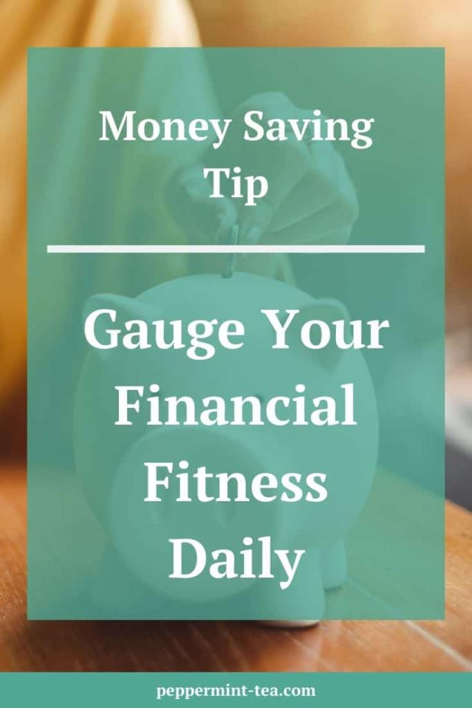Money Saving Tip: Gauge Your Financial Fitness Daily