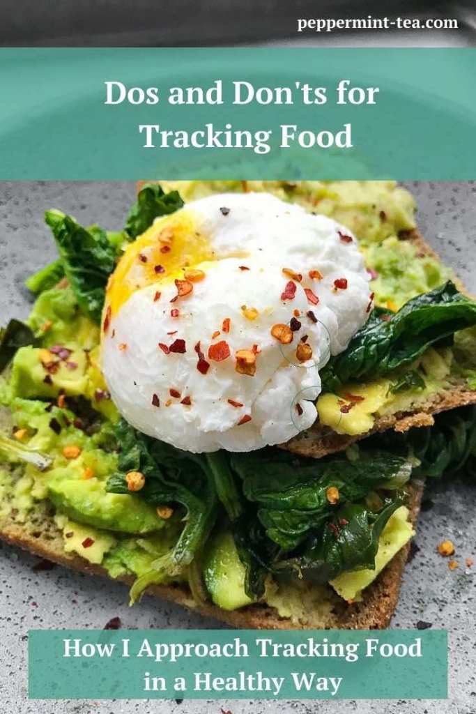 Dos and Don'ts for Tracking Food