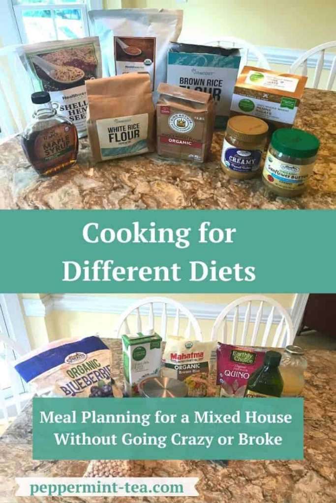 Cooking for Different Diets