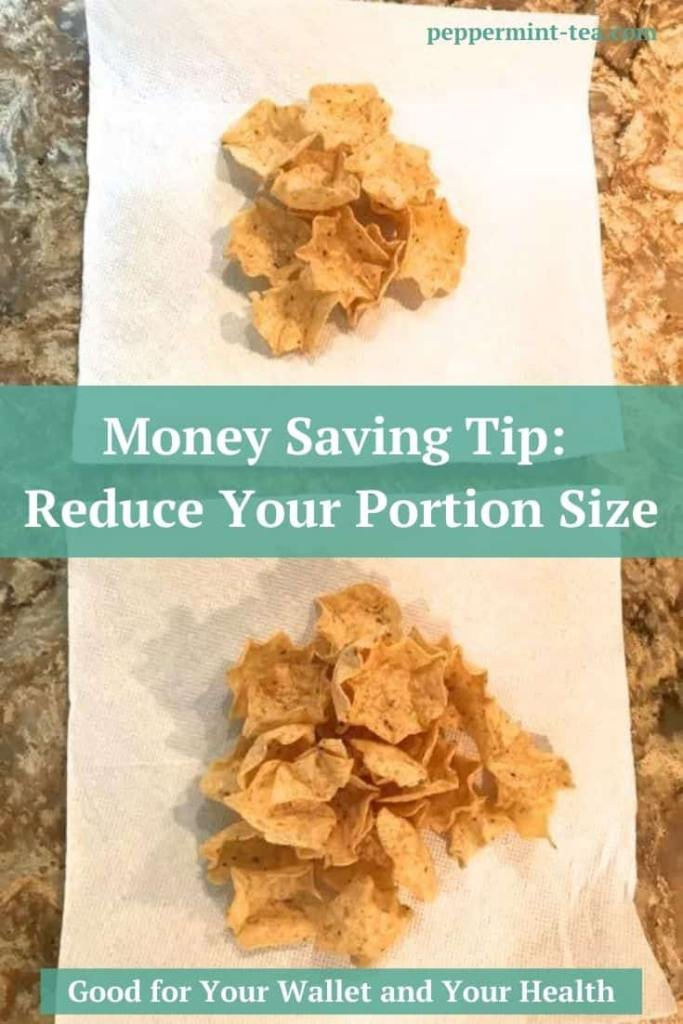 Money Saving Tip: Reduce Your Portion Size
