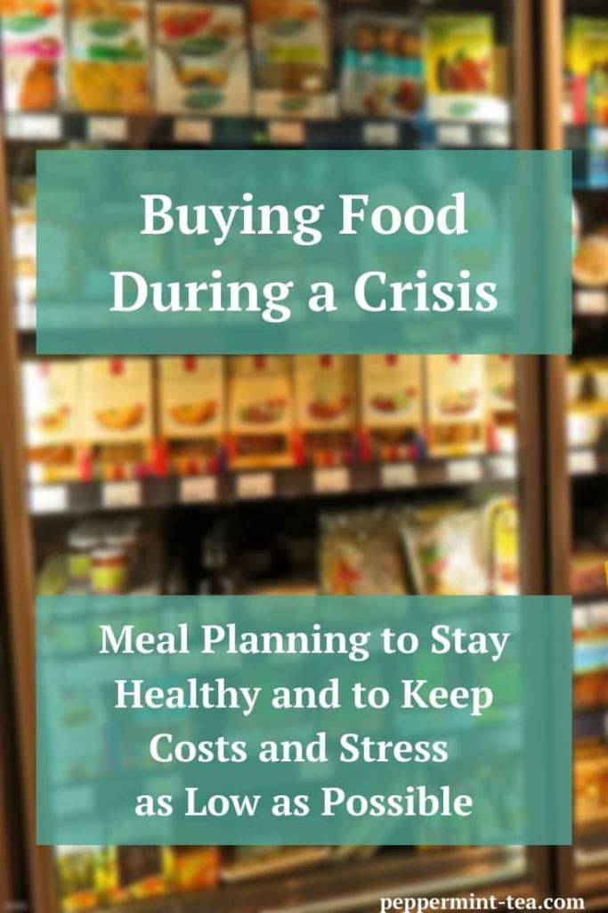 Buying Food During a Crisis