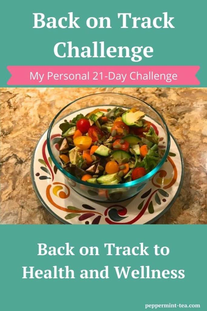 My Personal 21-Day Back on Track Challenge
