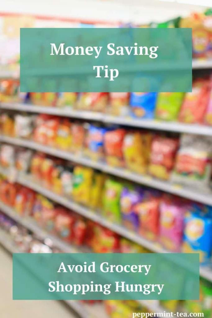 Money Saving Tip: Avoid Grocery Shopping Hungry