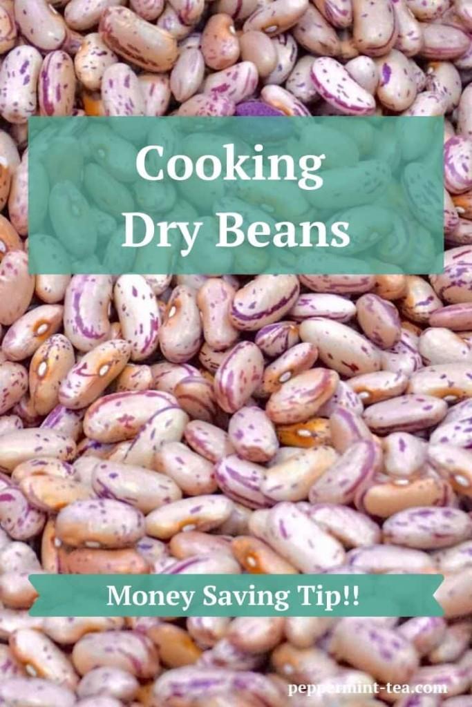 Money Saving Tip: Cooking Dry Beans